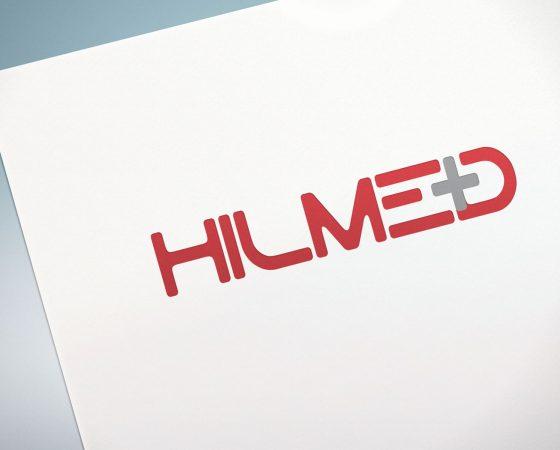 HILMED Logo design