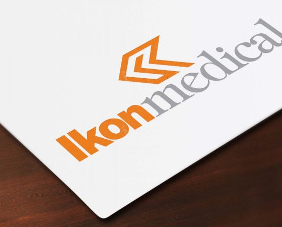 Ikonmedical Logo design