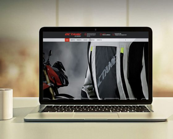 Octane Motosport Website design and development