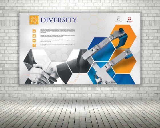 Diversity Exhibition Display