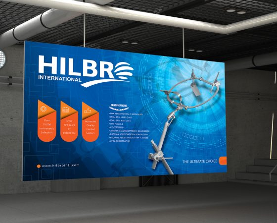 Hilbro International Gallery Poster