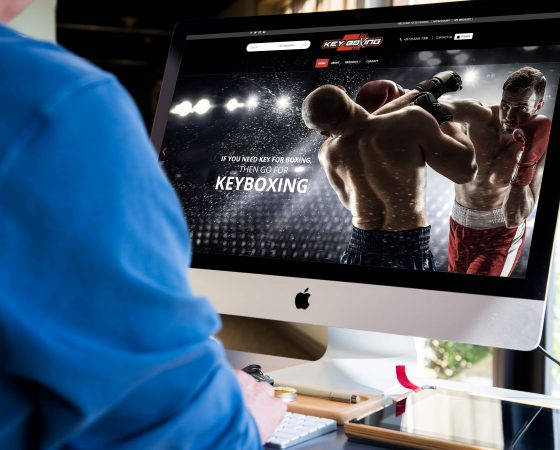 Key Boxing Website Design and Development